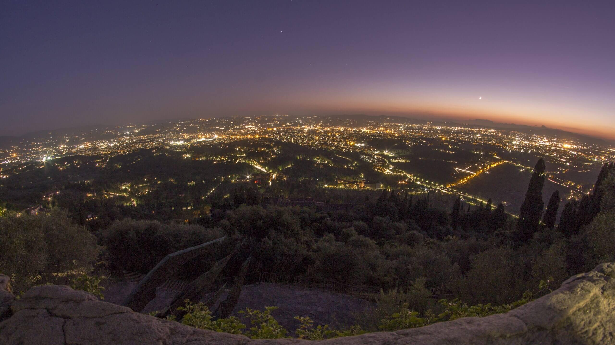 Aussichtspunkte in Florenz - Firesole