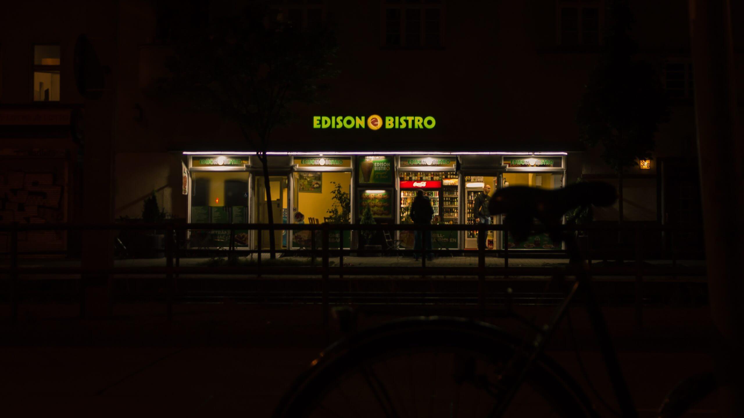 Edison Bistro in Schöneweide